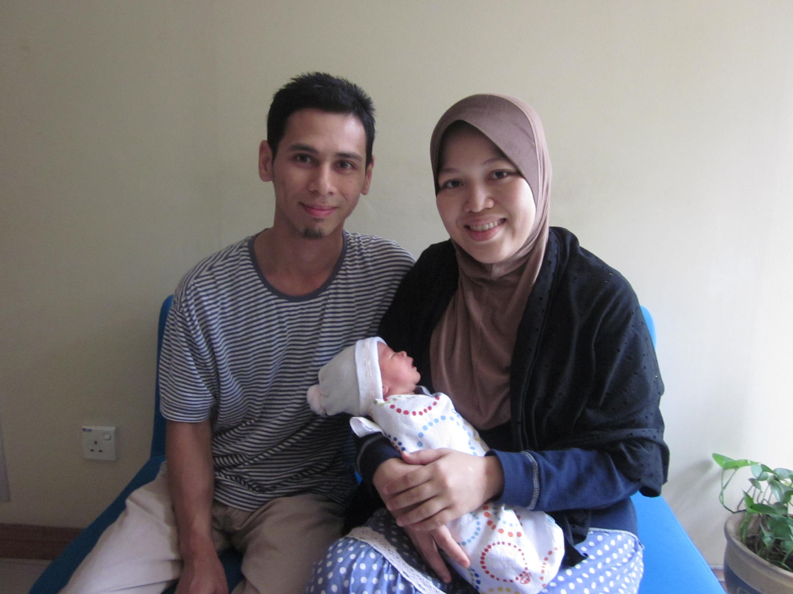 Nur Adzelinda & Muhd Izdiharuddin
