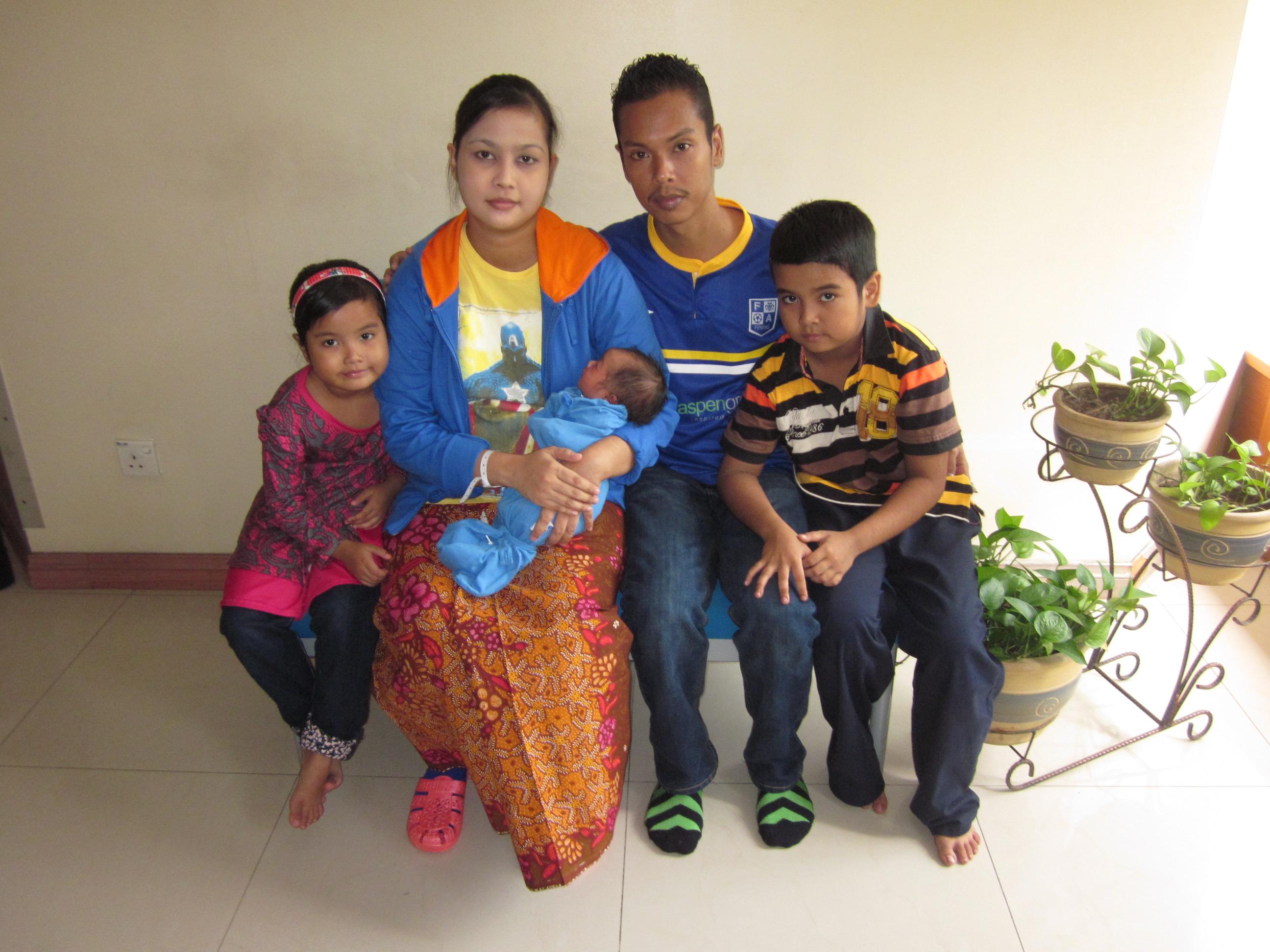 Mohd Khairi & Farah Daian