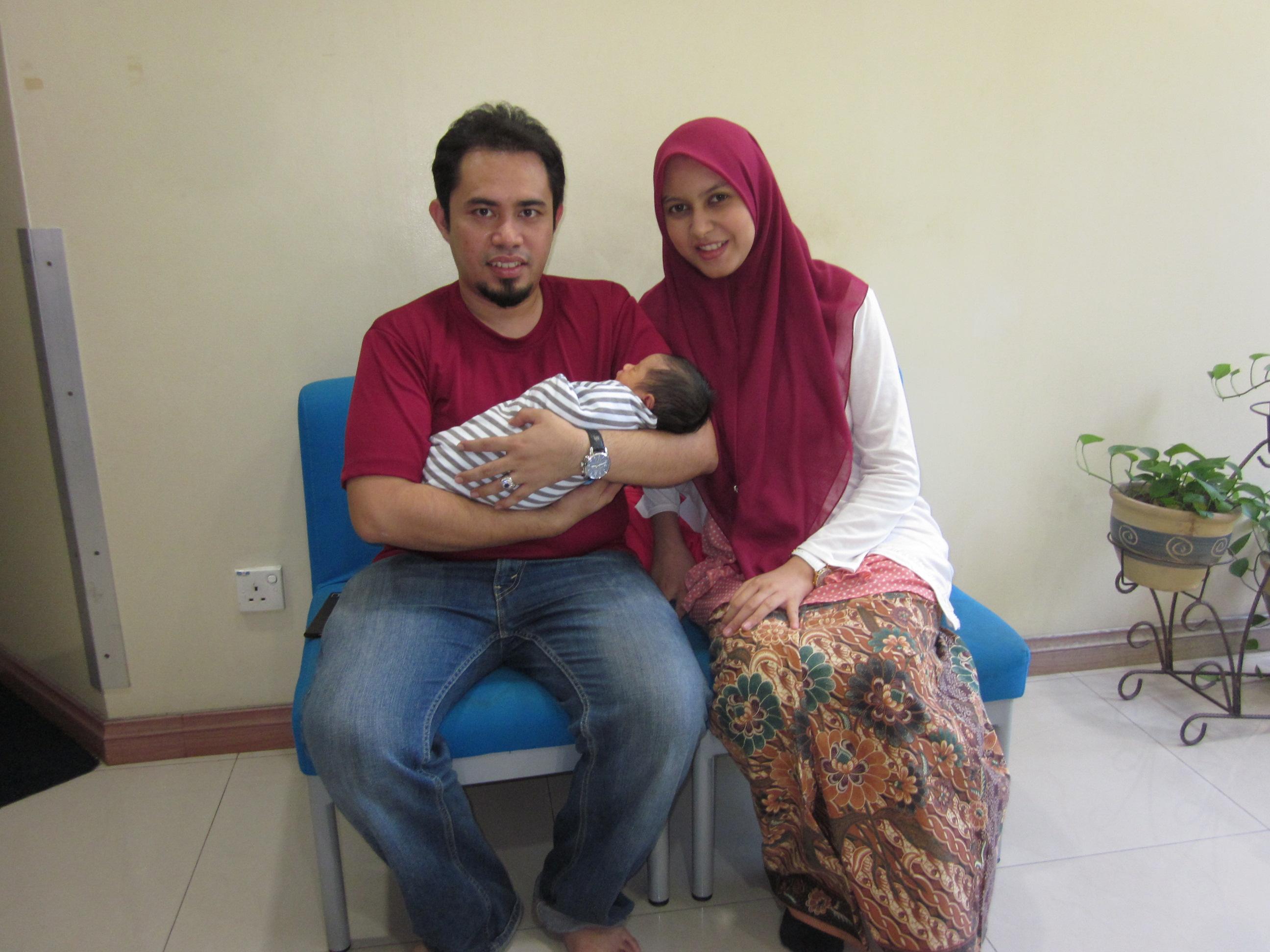 Wan Mohd Amir Haris & Nabilah Khairiyah